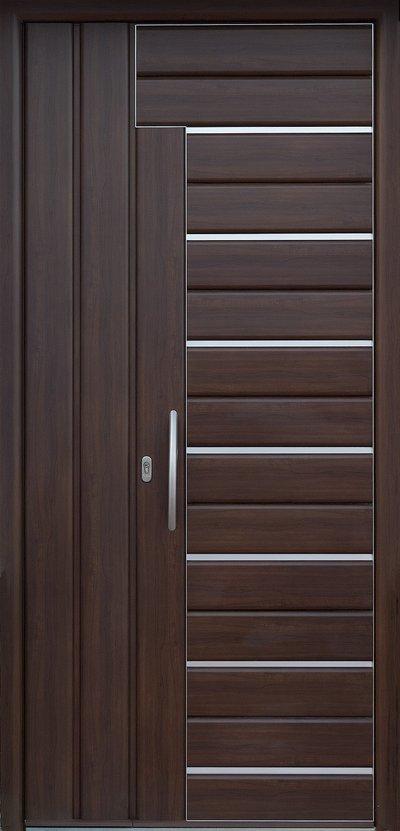 Puertas exteriores cristaler a y aluminios moscatel for Colores para puertas exteriores