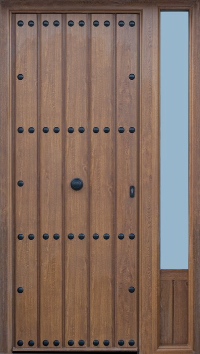 Puertas exteriores cristaler a y aluminios moscatel - Cristaleras de aluminio ...